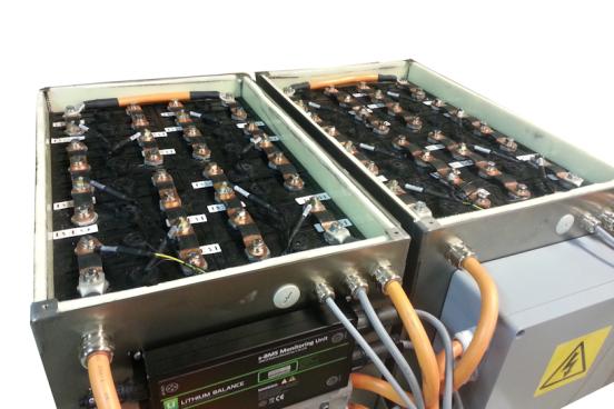 Litiumbatteri skrot